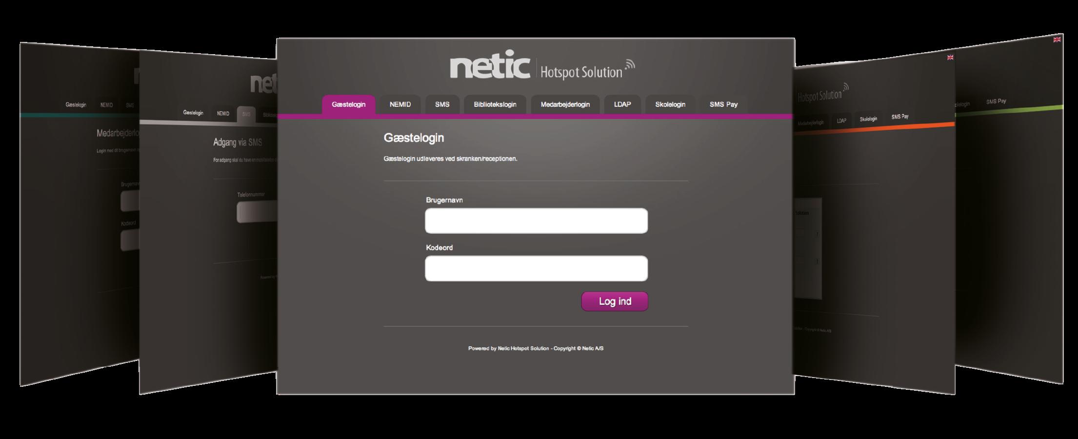 Netic Hotspot Solution